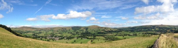 View over Castleton